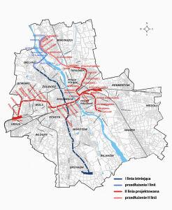 Którą linią metra na Białołękę?