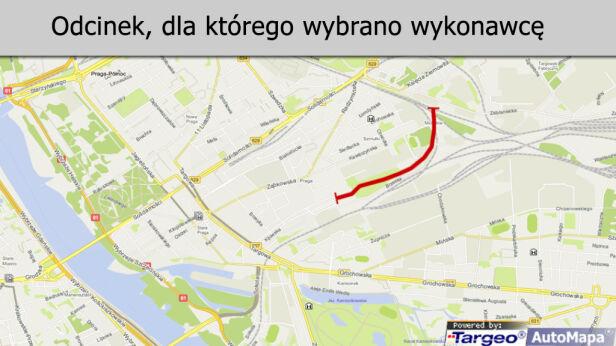 Wyłoniono wykonawcę kolejny odcinek Trasy Świętokrzyskiej tvnwarszawa.pl / Targeo