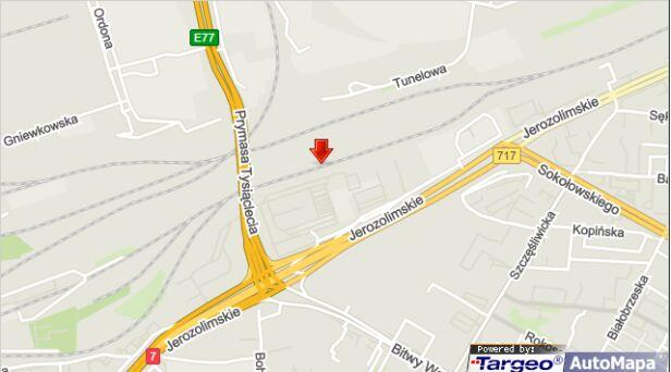 Do awarii doszło w rejonie Warszawy Zachodniej targeo