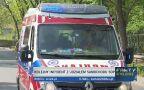 Rowerzystka potrącona przez samochód SOP-u