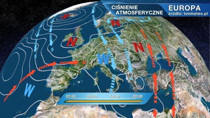 Niż Diana rządzi pogodą w Polsce